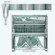 Vintage 1917 era Player Piano Tuning & Piano Repair manual on CD