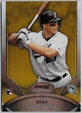 2010 Giancarlo Mike Stanton Bowman Sterling Gold Refractor RC... #50/50