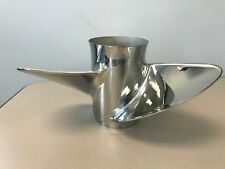 Mercury Reconditioned 48-88450 14.5 x 23 RH Stainless Steel 3 Blade Prop