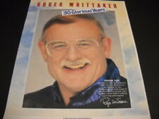 ROGER WHITTAKER 30 Glorious Years original 1993 PROMO POSTER AD mint condition
