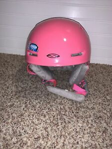Smith Zoom Jr Ski Snowboard Helmet (Pink) Size Youth Small 48-53cm