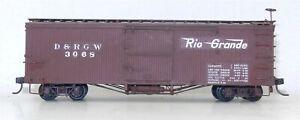 Sn3 Narrow Gauge #3068 D&RGW Camel Door Version BOX CAR ~ T130E