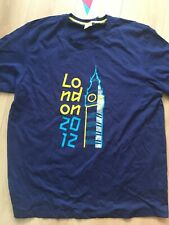 BNWT Adidas Olympic Games Navy Blue  T-Shirt Official Product London 2012  XXL