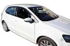 DVW31178 VW POLO 6R 5 PORTE Deflettori Vento 2009-up 4pc HEKO colorata