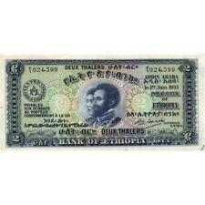 ETHIOPIA - 2 THALERS    1933  P.6