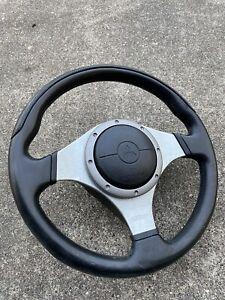 Mitsubishi Lancer EVO 7/8/9 Steering Wheel OEM Original MOMO