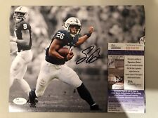 Saquon Barkley Signed Penn State 8x10 Photo JSA COA