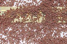 18/0 Old Time Vintage Venetian Opaque Brown #2 Seed Beads/14 grams
