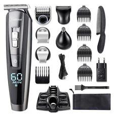 Professional Hair Cut Machine Barber Salon Cutting Clippers Trimmer Kit