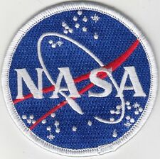 "50 Ps USA NASA Embroidered Patches 3"" Diameter iron-on"