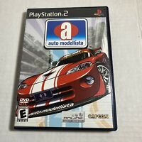 Auto Modellista (Sony PlayStation 2, 2003) Complete PS2 Video Game Free Ship
