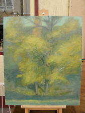 Guy Nardeau artiste peintre 1959 - le peuplier en automne  *