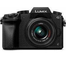 PANASONIC Lumix DMC-G7EB-K Compact System Camera with Lumix G VARIO WiFi