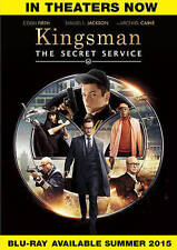 Kingsman: The Secret Service DVD Matthew Vaughn(DIR) 2015