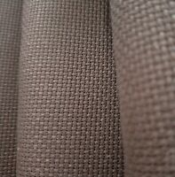 "59"" X 1 Yard 14 count cotton Coffee cross stitch Aida Cloth Fabric"