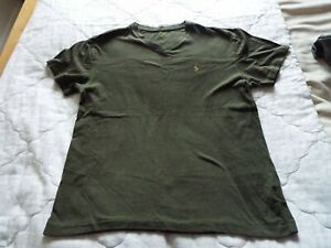 Ralph Lauren Cotton T-shirt in green SIZE- small good condition