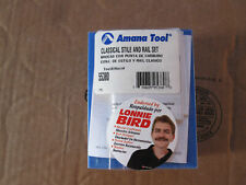 Amana Router Bit Lot Big Collection Brand New Bits in Package