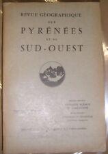Revue géographique des Pyrénées et du Sud-Ouest Tome 31 1960 Émigration espagnol