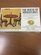 The House Of Miniatures Hepplewhite Round Table No.40005