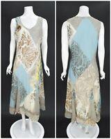 Womens PIRO by Elisa Cavaletti 100% Cotton Long Maxi Dress Plus Size XXL / 2XL