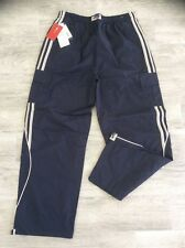 MENS CENTINO CASUAL CARGO COMBAT PANTS NAVY BLUE SIZE L = 34 WAIST
