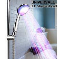 Soffione luminoso per doccia con LED rosso verde blu.Bagno cromoterapia colori