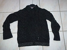CHEMISE NOIRE OOXOO / MARESE 12 ANS / 152