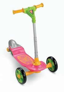 FISHER PRICE GROW WITH ME SIT TO STAND PINK SCOOTER 2 STAGES *NEW*