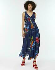 MONSOON Dress UK 14 BETTINA  Floral Chiffon Midi Party Cruise Races BNWT