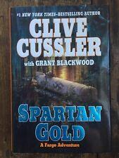 Spartan Gold Grant Blackwood Clive Cussler (2009 Hardcover) ISBN 9780399156427