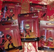 Lot of 5 -Disney The Incredibles Mini Figures. New in packages.
