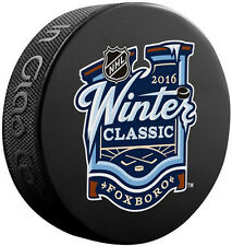 Boston Bruins Montreal Canadiens 2016 NHL Winter Classic Souvenir Hockey Puck