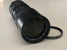 Vivitar 85-205mm f/3.8 Close Focusing Auto Zoom Telephoto Minolta MD Mount Lens