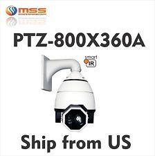 """PTZ Speed 7"""" Dome 700TVL Camera 360X Zoom Outdoor Fill Light IR 650ft AC24V 360A"""
