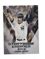 2018 Topps Update STORYBOOK ENDINGS Complete Set (10) JETER+