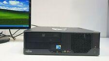 FUJITSU ESPRIMO Windows XP Computer Mini PC 2x2,80GHz 160GB 2GB DVD LPT COM VGA