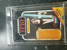 More details for vintage star wars obi wan kenobi 65 cardback rotj emperor offer, post to uk only
