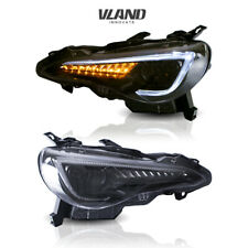 VLAND LED Headlights For SUBARU BRZ 13-19 & 13-16 Scion FR-S &TOYOTA 86 12-19