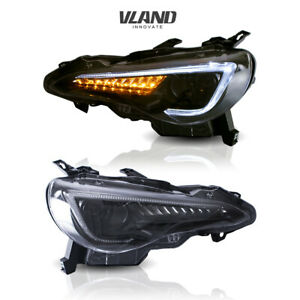VLAND LED Headlights For SUBARU BRZ 13-19 & 13-16 Scion FR-S &TOYOTA 86 12-19