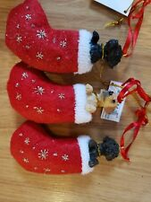 Lot Of 3 Labrador Retriever Ornaments Retail $30