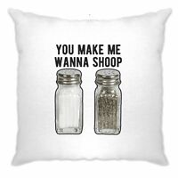 Hip Hop Cushion Cover Salt and Pepper Shakers You Make Me Want To Shoop