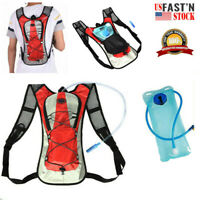 NEW 2L Water Bladder Bag Hydration Backpack Pack Hiking Camping Cycling Outdoor