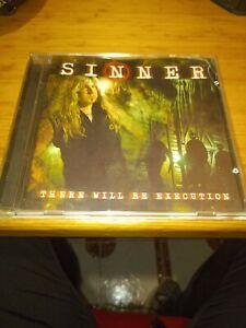There Will Be Execution - Sinner | CD | 2003 - *** Nuclear Blast *** Matt Sinner