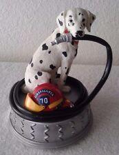Dalmatian Dog San Francisco Musical Box Figurine Tune: God Bless America