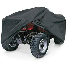 BLACK XL LARGE SIZE ATV COVER WATERPROOF 190T FIT FOR HONDA SUZUKI KAWASAKI QUAD