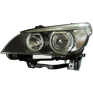 New Head Lamp Lens and Housing Driver Side, HID w/Auto Adjust 114-50187L
