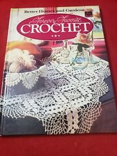 Better Homes and Gardens Forever Favorite Crochet very good hard 1984 book