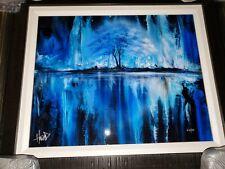 Ashton Howard Painting (Natures Blues) Dye Sublimation Signed & #53/200