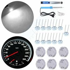 6x Stepper Motor X27.168 Guage Repair Kit & 11 White Instrument LED For Chevy