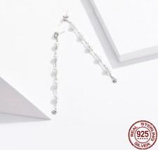 White - Simple Pearl Stud Drop Earrings